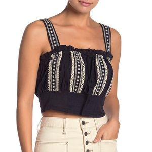 Free People Hill Top Crop Tank